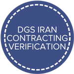dgs iran contracting verification