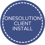 OneSolution Client Install